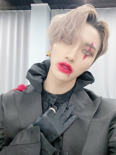[T Official] ATEEZ, [#Ka] Kaa Awaya who won the torch of this Tiny and will post the photo that was posted yesterday.  This Tini a lot of love ❤️ Good night 🌙  #2_years_with_ATEEZ #ATEEZ #ATEEZ  ..